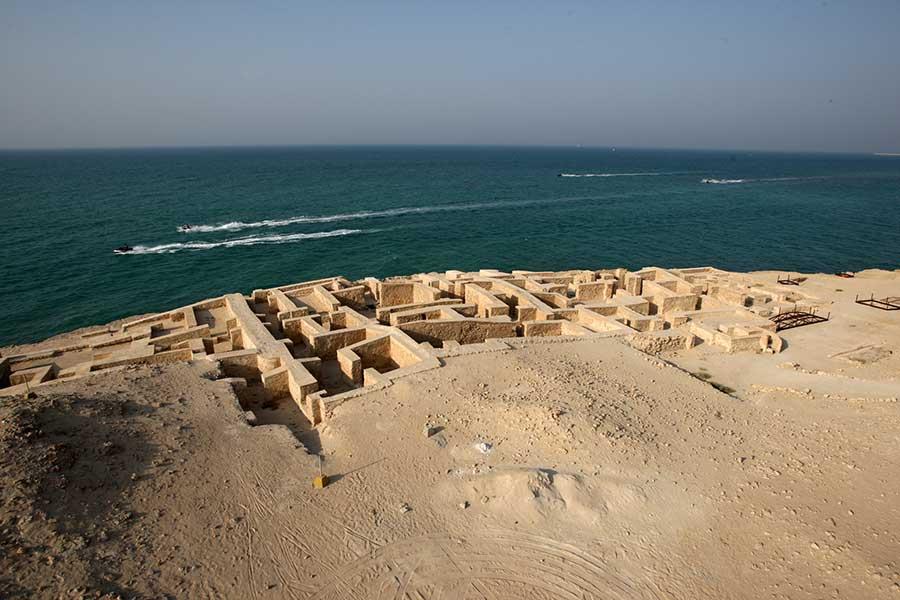 شهر باستانی حریره در جزیره کیش