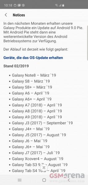 galaxyA9 update