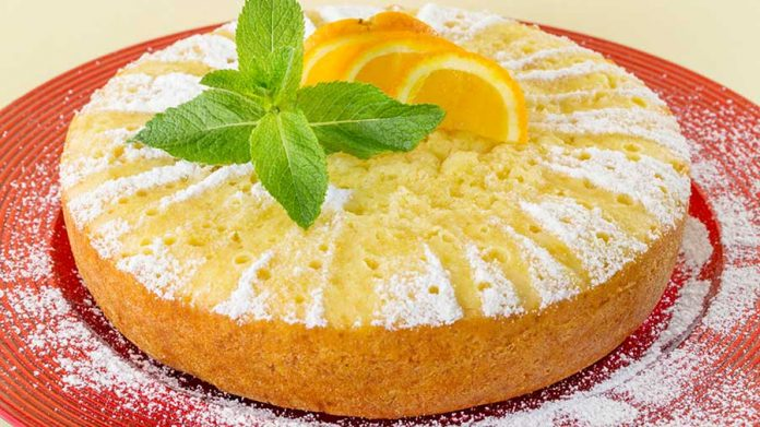 طرز تهیه کیک پرتغالی
