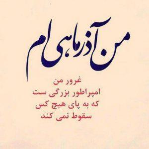 عکس پروفایل من آذر ناهی ام