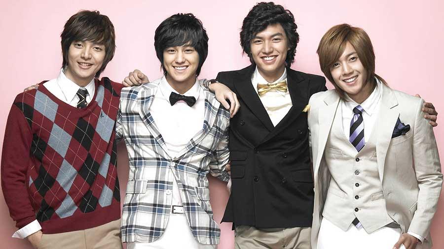 سریال کره ای پسران برتر از گل