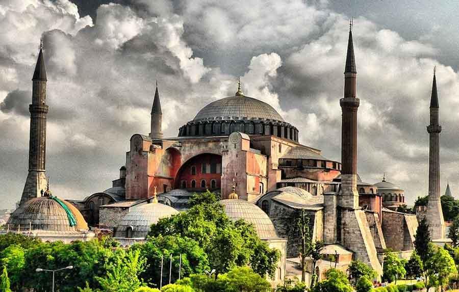 مسجد ایاصوفیه در استانبول