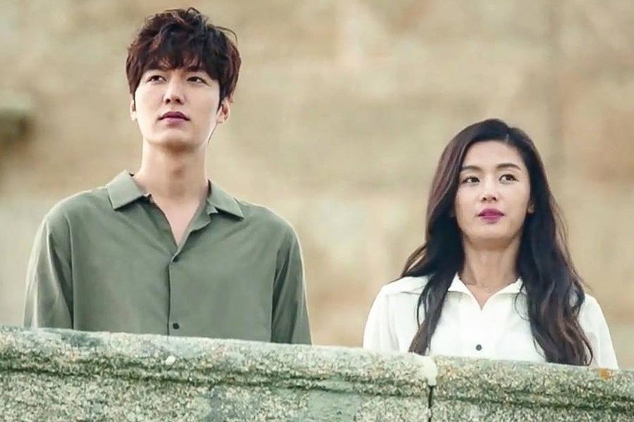 لی مین هو و جیانا جون در سریال کره ای افسانه دریای آبی