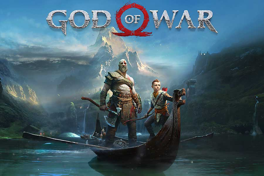 بازی  God of war
