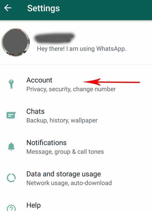 حذف تیک دوم در واتس اپ