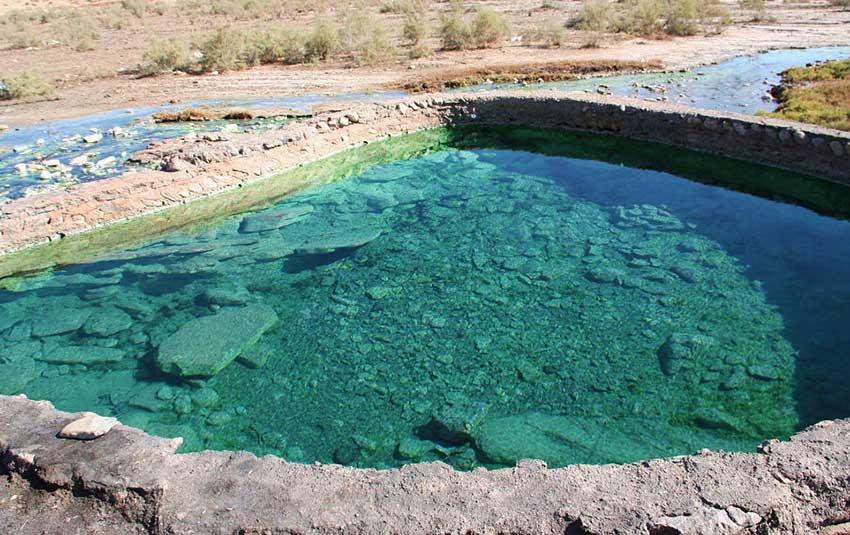 چشمه آبگرم خورگو در بندرعباس