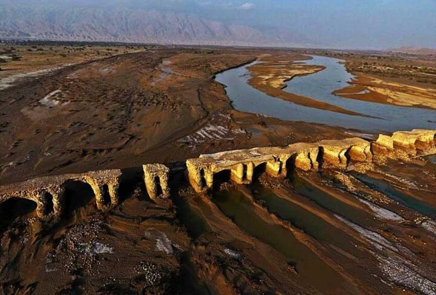 پل لاتیدان در بندر عباس