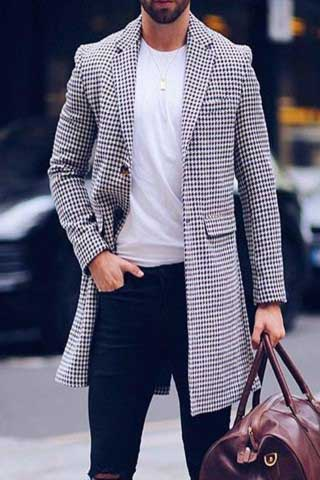 مدل پالتو مردانه بلند