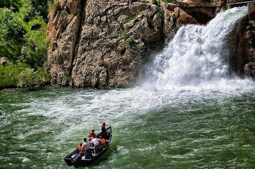 چشمه بل در کردستان