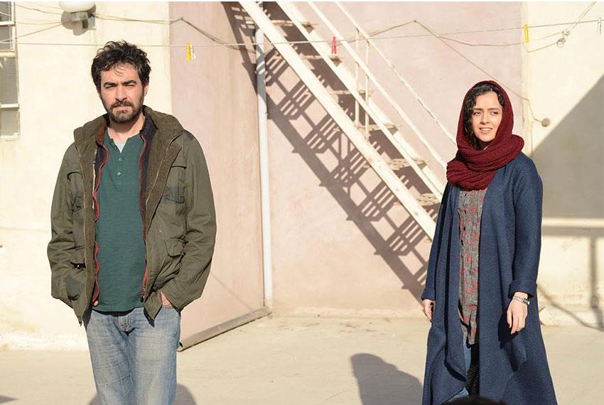 شهاب حسینی و ترانه علیدوستی در فیلم سینمایی فروشنده