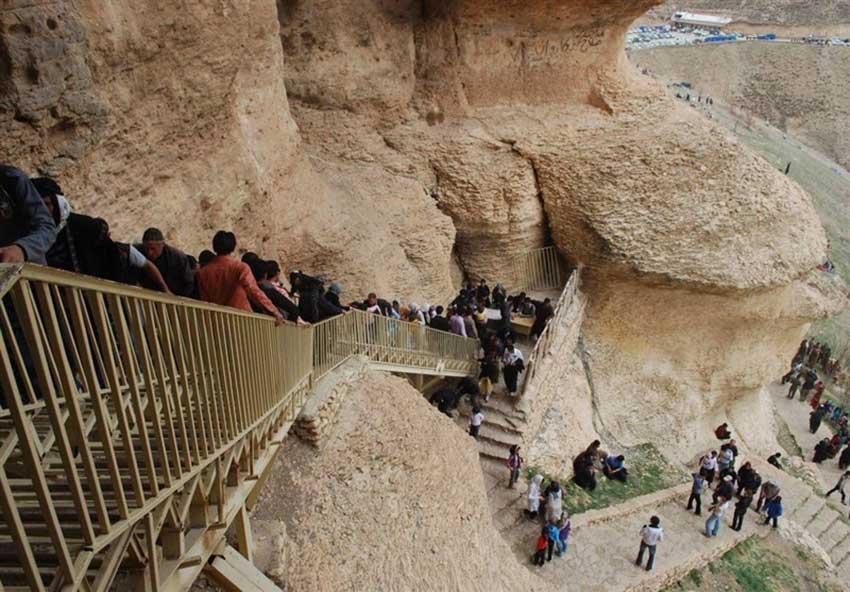 غار کرفتو در کردستان