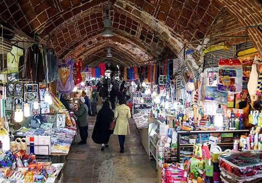 بازار بزرگ در سنندج