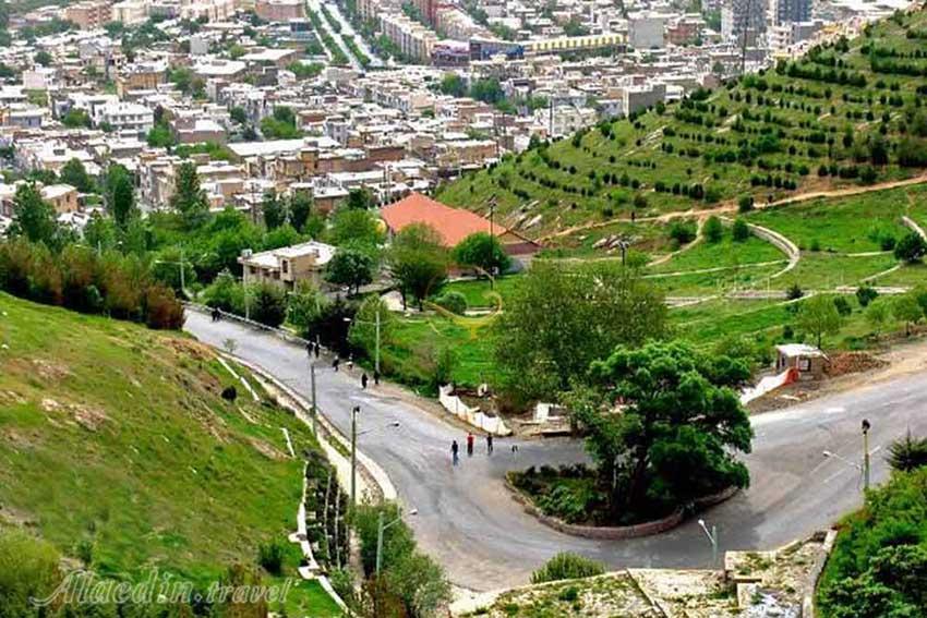 پارک جنگلی آبیدر در کردستان