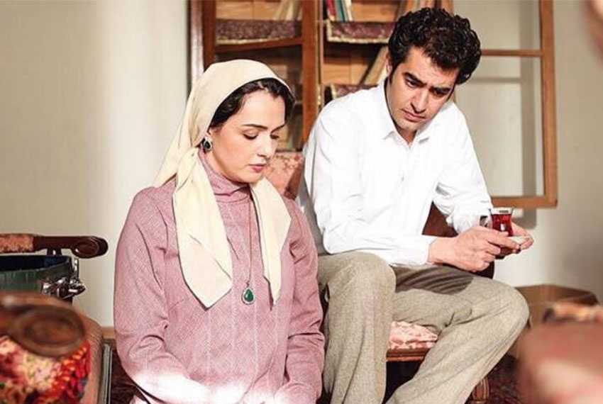 شهاب حسینی و ترانه علیدوست در سریال شهرزاد