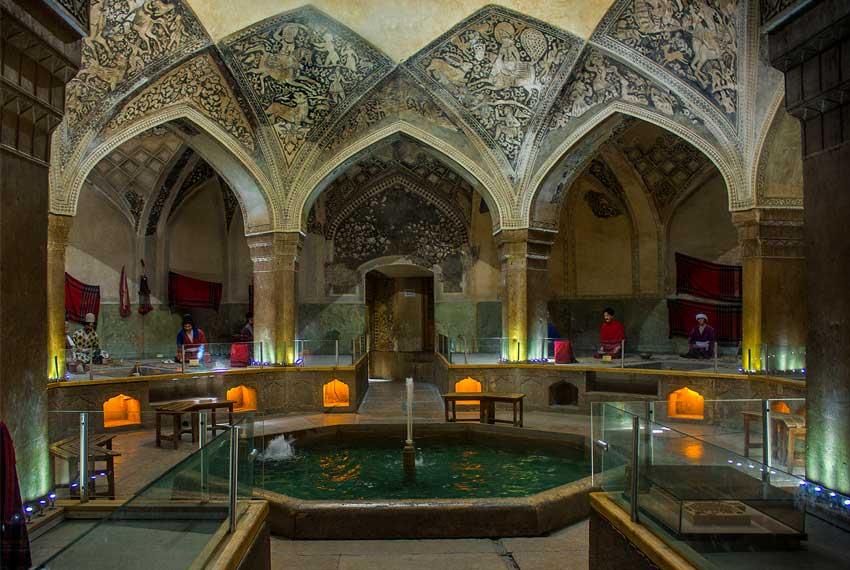 حمام وکیل در شیراز
