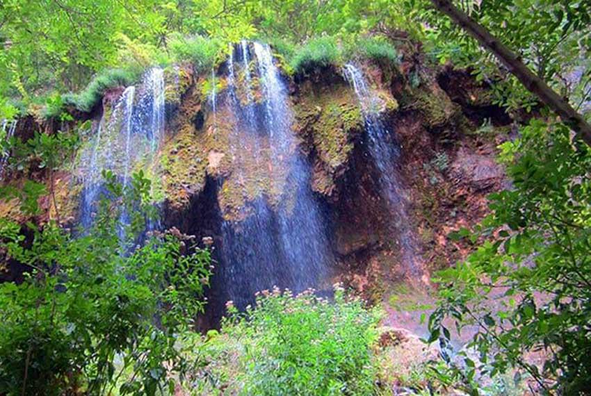 آبشار اخلمد در مشهد