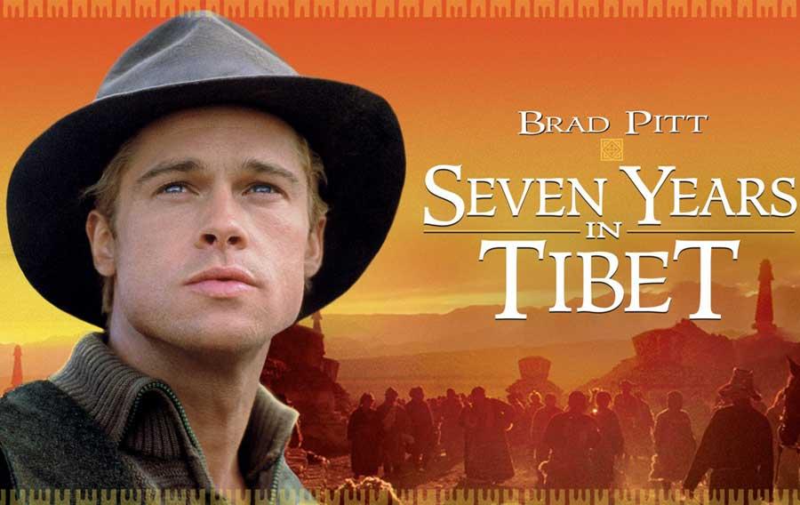 برد پیت در فیلم سینمایی هفت سال در تبت