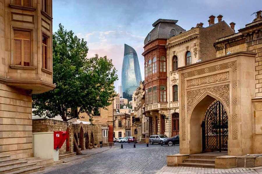 ایچری شهر در باکو